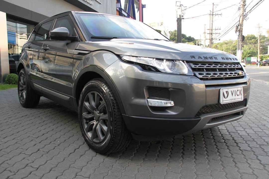 Land Rover Evoque Pure Tech 2015 Cinza Blindada