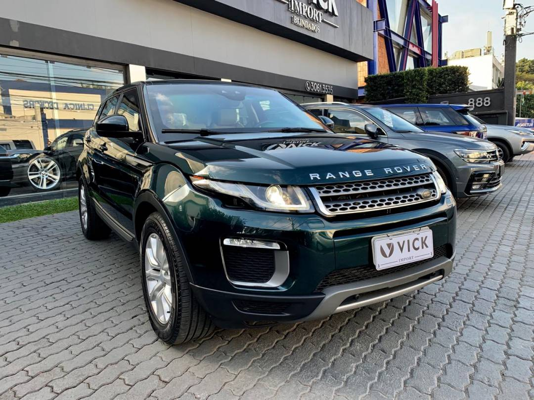 Land Rover Evoque SE 2016 Verde Blindada