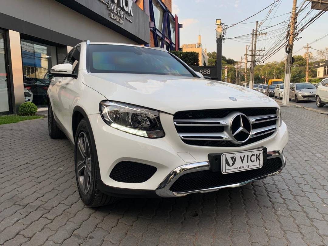 Mercedes GLC 250 Sport 2016 Blindada