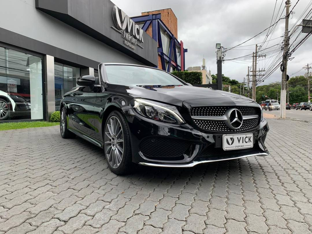 Mercedes C300 2.0 CGi Turbo Cabriolet 2017