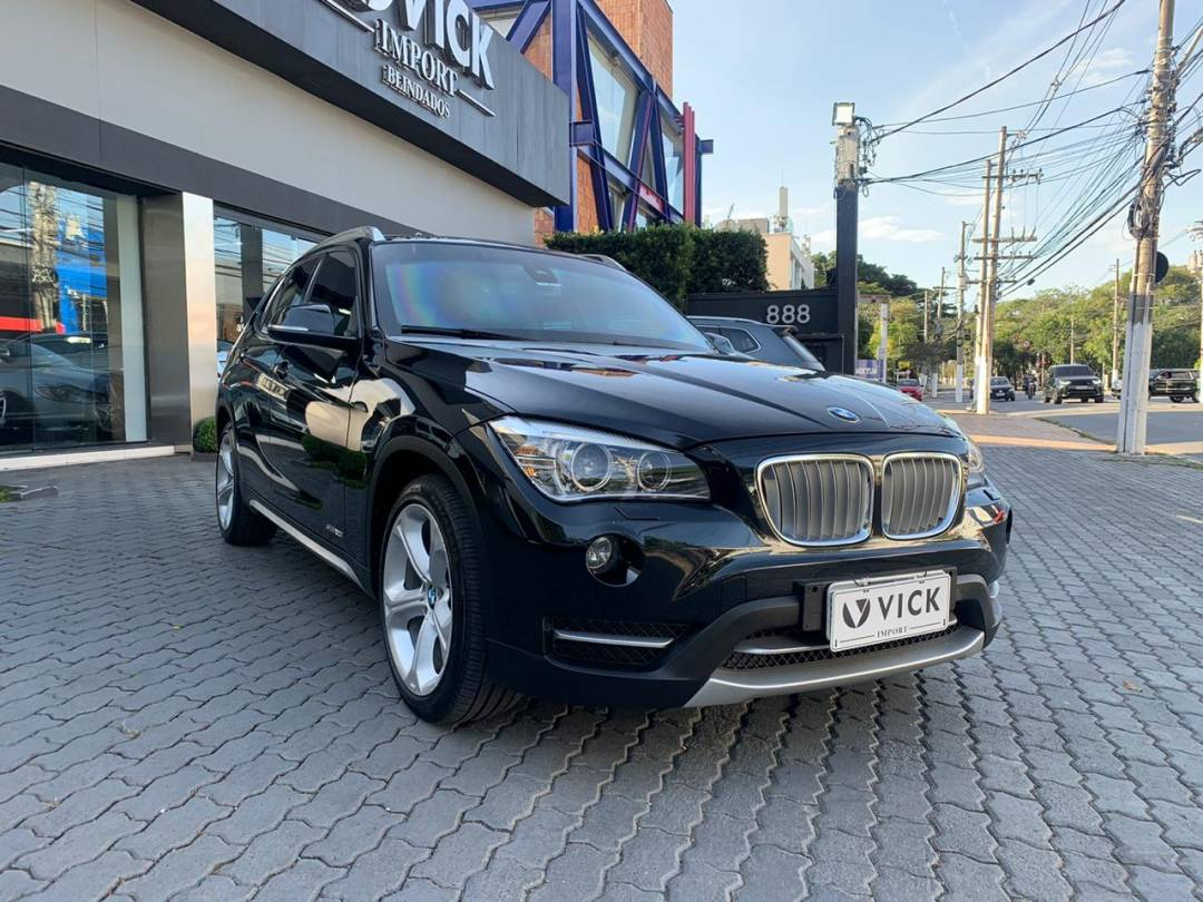 BMW X1 sDrive 2.0 20i ActiveFlex 2014  Blindada