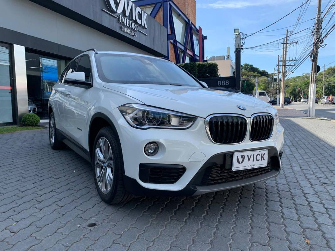 BMW X1 sDrive 2.0 20i ActiveFlex 2018 Blindada