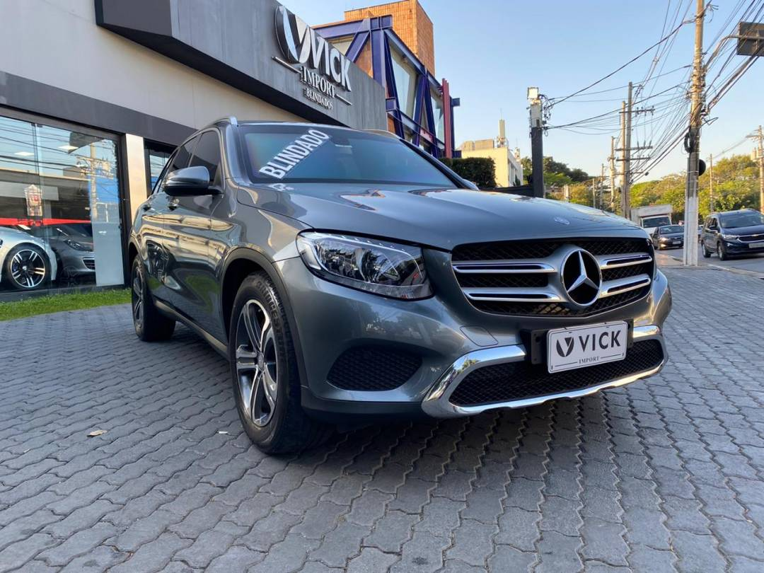 Mercedes GLC 250 4matic 9G 2016 Blindada