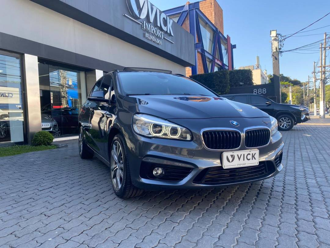BMW 225I CAT 2016 Cinza
